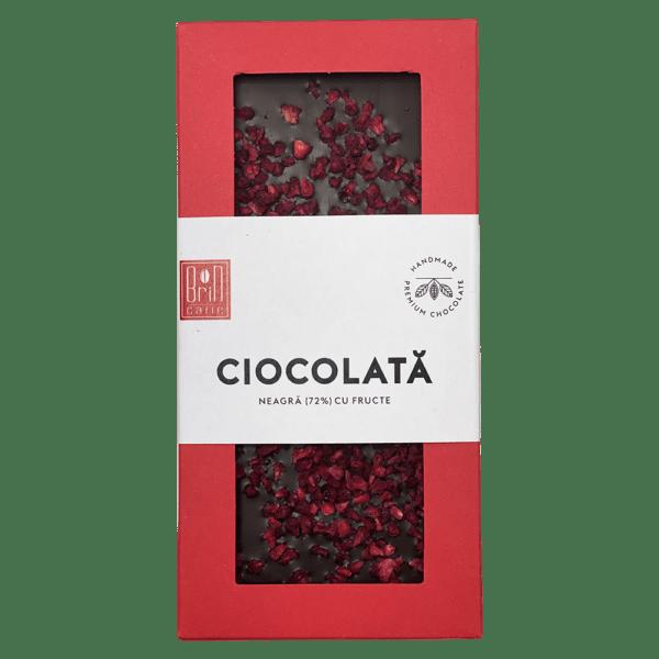 Brin Ciocolată neagră (72%) cu fructe